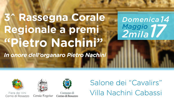 3 Rassegna Corale Regionale A Premi Pietro Nachini Cori Friuli